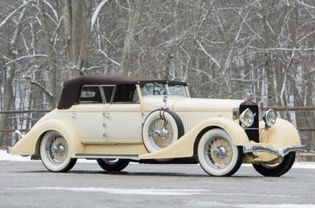 1928 Hispano-Suiza H6C Transformable Torpedo by Hibbard & Darrin