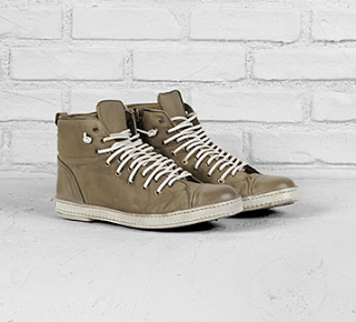 Downtown Kicks:  John Varvatos Artisan Double Lace Sneaker