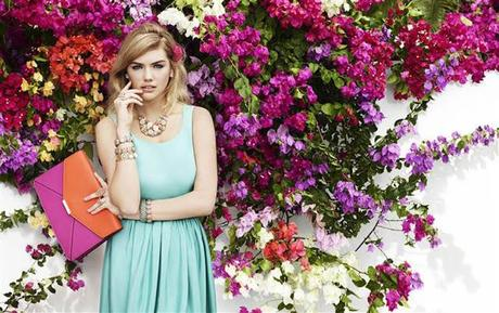 KATE UPTON FOR ACCESSORIZE SPRING 2013 CAMPAIGN