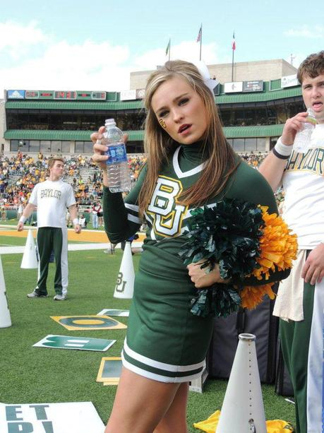 I Love This Baylor Cheerleader