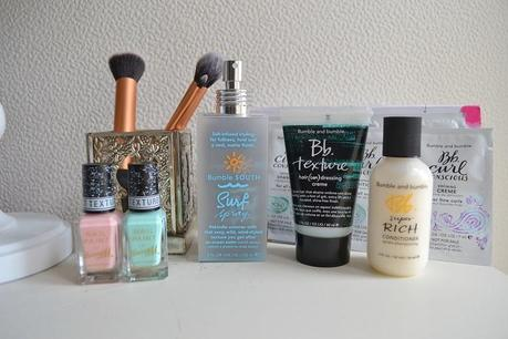 Recent Beauty Products