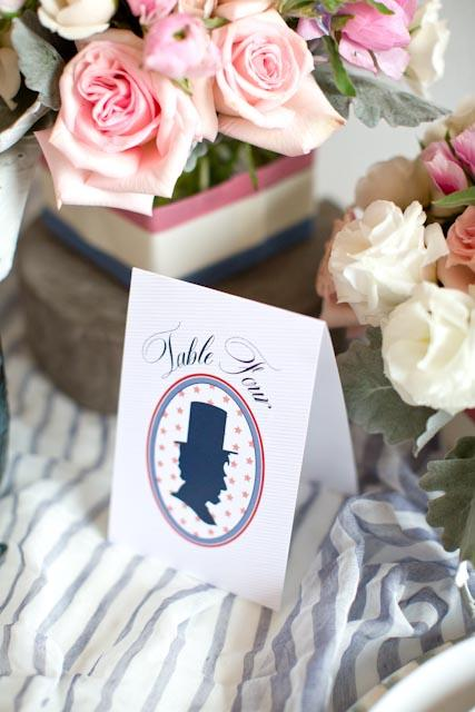 Presidential-Inspired-Place-Cards,Dom Loves Mary calligraphy font, cursive fonts, script fonts, calligraphy fonts, wedding fonts, fonts for weddings, fonts for invitations, best selling fonts, top selling fonts, most popular fonts, DIY wedding fonts, Elizabeth Anne Designs, Americana themed wedding, Americana themed signs, Americana themed party, Debi Sementelli, Lettering Art Studio