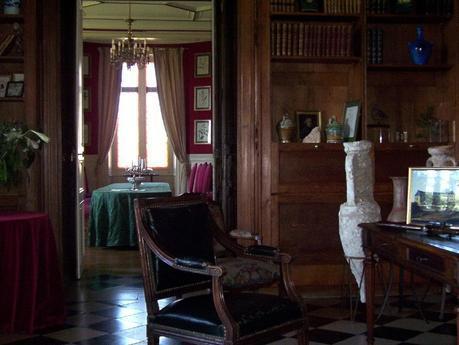 Château de la Bourdaisière Castle - library -  Loire Valley - France
