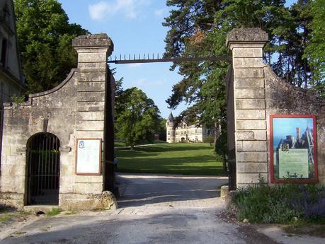 Château de la Bourdaisière Castle main entrance gate -  Loire Valley - France