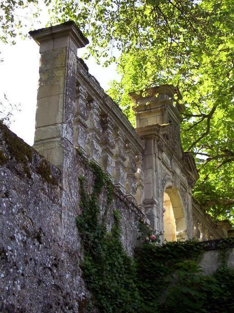 Château de la Bourdaisière Castle entrance gate -  Loire Valley - France