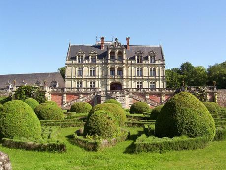 Château de la Bourdaisière Castle - front -  Loire Valley - France
