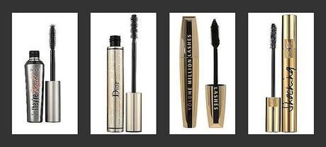 My 4 Favourite Mascaras