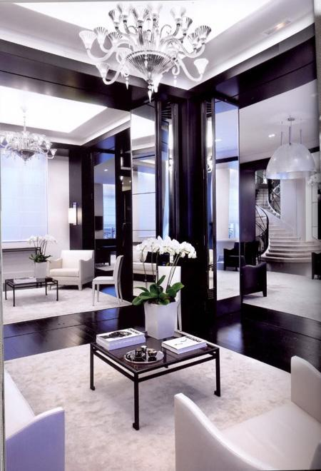 decor black and white rooms6 Be Bold and Daring: Decorate with Black and White HomeSpirations