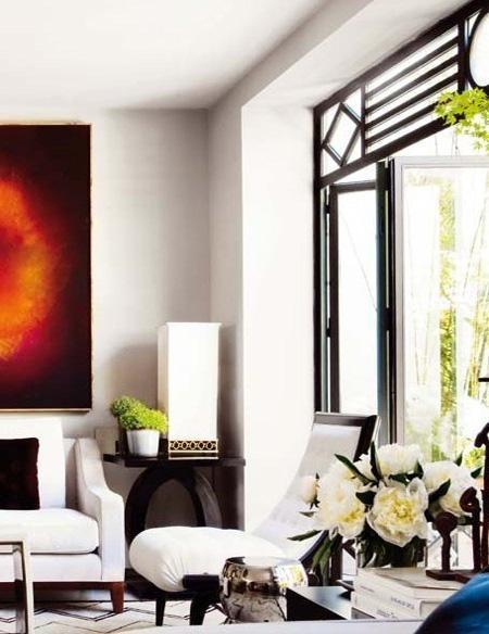 decor black and white rooms1 Be Bold and Daring: Decorate with Black and White HomeSpirations