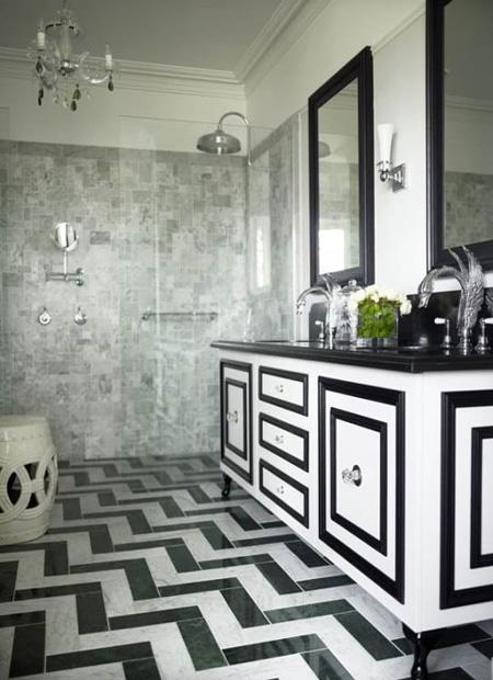 decor black and white rooms5 Be Bold and Daring: Decorate with Black and White HomeSpirations