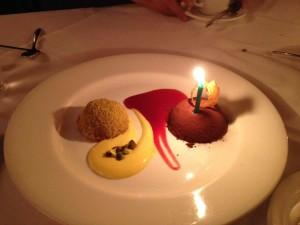 My Lovely Birthday Dessert