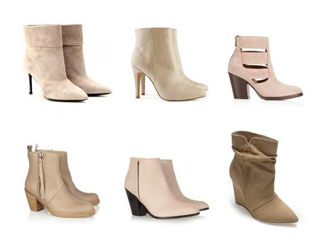The nude boots