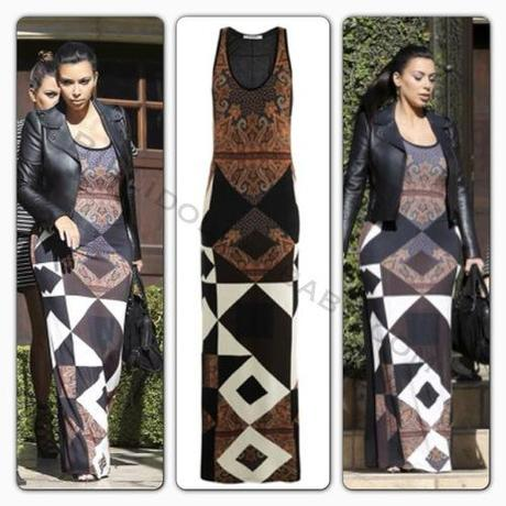 Celeb Style: Kim Kardashian out and about in Beverly Hills...