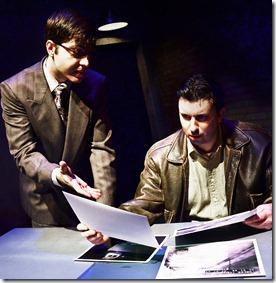 Steve Schine and Volen Iliev, City and the City, Lifeline Theatre