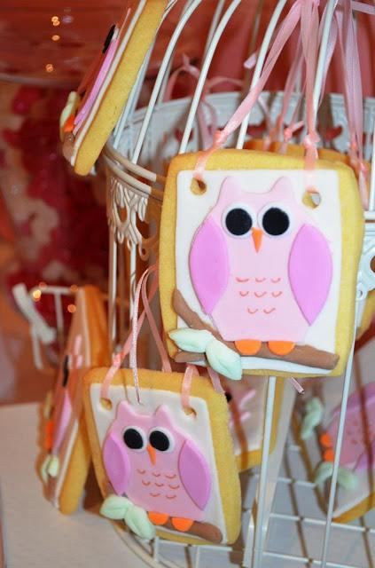 Pink Owl Themed Party by Party Printables By Akrivi