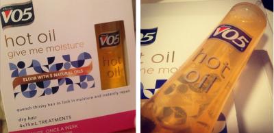 v05 hot oil instructions