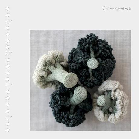 Art: crochet vegetables