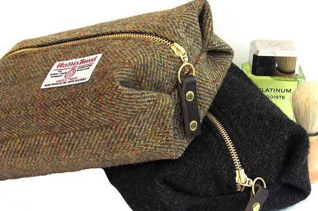 Harris Tweed Toiletries Bag