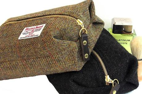 Harris Tweed Toiletries Bag