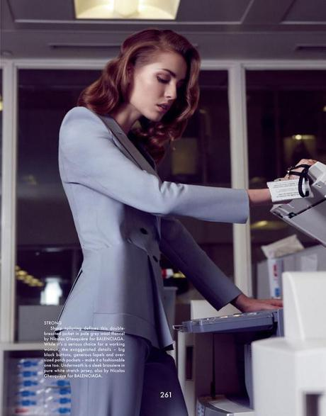Nadja Bender by Benjamin Alexander Huseby for The Gentlewoman Magazine Spring:Summer 2013 3