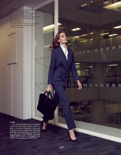 Nadja Bender by Benjamin Alexander Huseby for The Gentlewoman Magazine Spring:Summer 2013 5