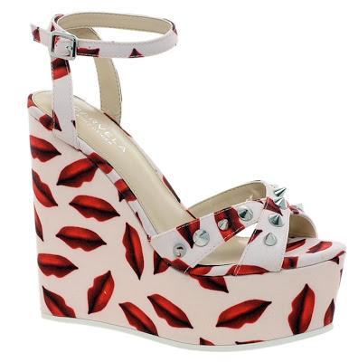 Shoe of the Day | Carvela Gardinia Lips Print Wedge