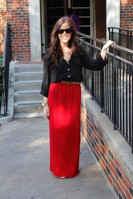 On the Street: Lady in Red