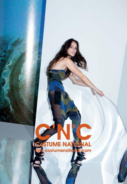C'N'C COSTUME NATIONAL TAPS CHELSEA TYLER FOR ITS SPRING 2013 CAMPAIGN