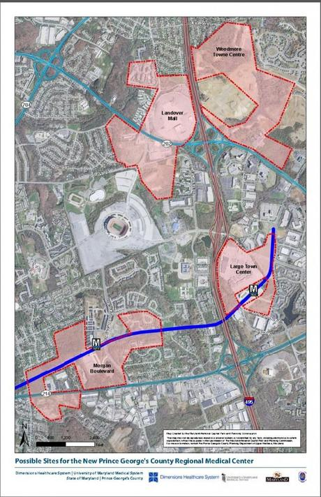 Regional Medical Center Site Choices