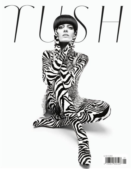 Erjona Ala for Tush Magazine Spring/Summer 2013 Photographer:...