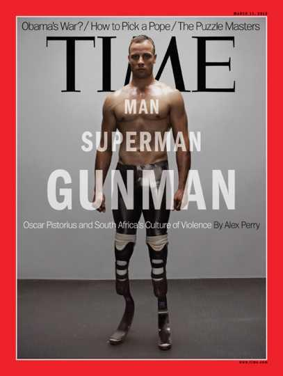 Time Magazine's Pistorius Cover