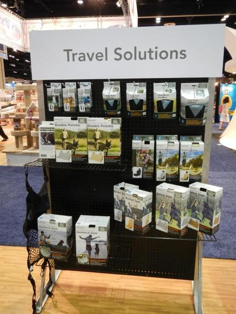 Bergan had a small but quality display of travel goods