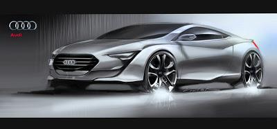 Audi design proposal by Victor Uribe Chacon
