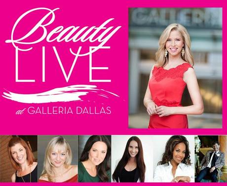 Get Spring's hottest beauty tips from Dallas' celeb experts on Saturday at Beauty Live at the Galleria