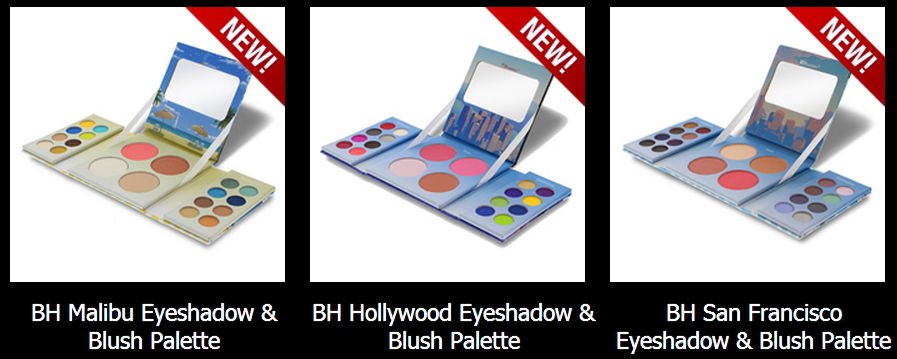 bh cosmetics California makeup collection, bh cosmetics coupon codes, bh california makeup collection swatches