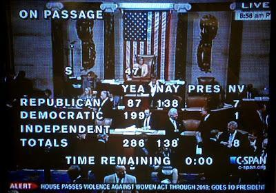 VAWA Passes As House GOP Caves