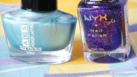 NYX Girls Nail Enamel in NGP151 ~ Review & NOTD