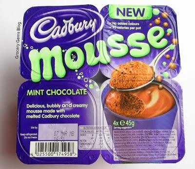 Cadbury Mint Chocolate Mousse Review