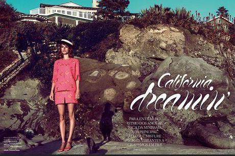 Alessandra Ambrosio for Vogue Brazil March 2013 in California...