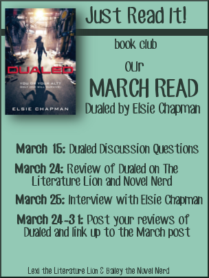 Just Read It! Book Club: Our March Read!