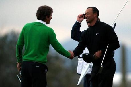Tiger Woods Rory McIlroy Match Play Golf