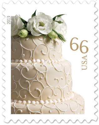 Potpourri Friday: The 66 cents Wedding Postage Stamp Released