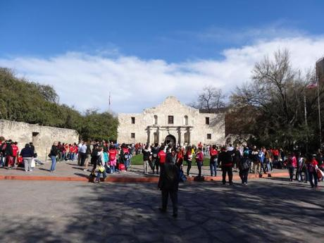 School Children at The Alamo
