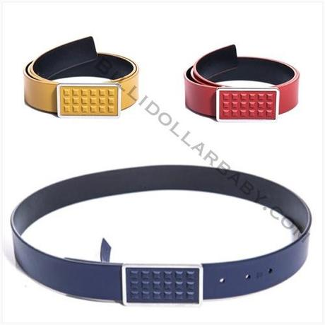 Mens Style: Balenciaga Studded Belts Available in three colors:...