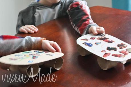 Kids Skateboard Craft