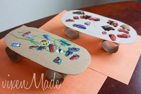 how to make a fingerboard skatepark out of cardboard