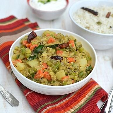 Goan Mixed Vegetable Curry
