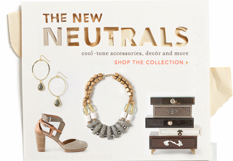 anthropologie neutral know how covet her closet promo code free shipping celebrity accessories trends 2013 how to tutorial