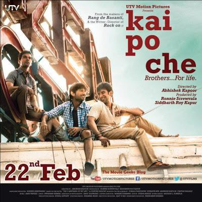 Kai Po Che: Movie Reviews