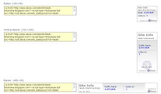 How to install the alexa widget in blog
